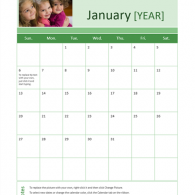 calendar microsoft word template